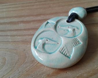 Greyhound necklace / Greyhound jewelry / Greyhound gift / Ceramic greyhound / Ceramic necklace / Animal jewelry / Handmade greyhound