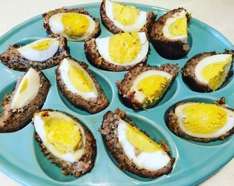 Pull a part garlic bread loaf recipe pdf jpg side dish tear scotch eggs recipe pdf jpg easter recipe breakfast picnic eggs snack eggs forumfinder Images