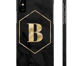 Black Marble Phone Case, Marble Phone Case, Phone Case, Black Marble, Marble, iphone 7 Case, iphone 6 Case, Marble iphone Case, Black & Gold