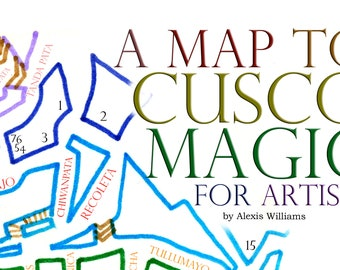 Map to Cusco Magic for Artists