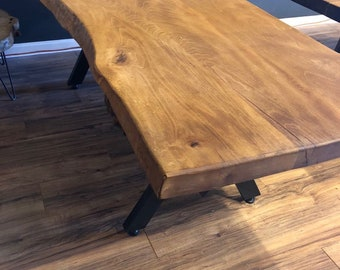 Ash Tree Dining Table ( FLOOR MODEL )