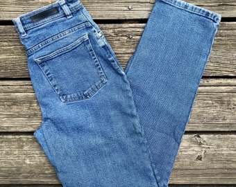 GLORIA VANDERBILT Missy High Waist Tapered Leg Denim Jeans Women's 6M (26x31)