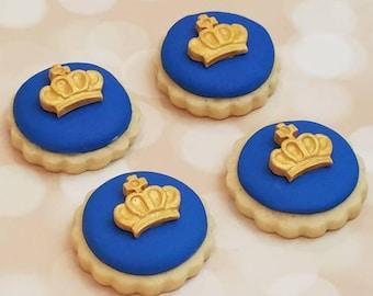 Royal Crown Decorated Sugar Cookies