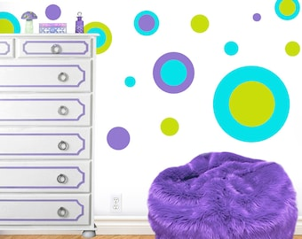 Cool Circles Jumbo Peel and Stick Wall Decals