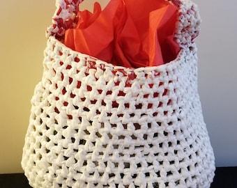 Crochet Plarn Tote Bag 14