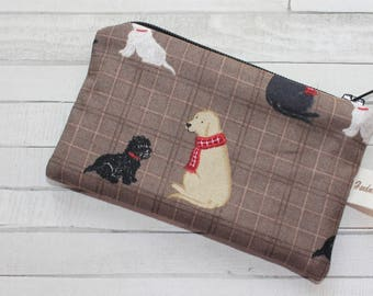 Coin purse, change purse, dogs purse, Labrador, gift for dog lover