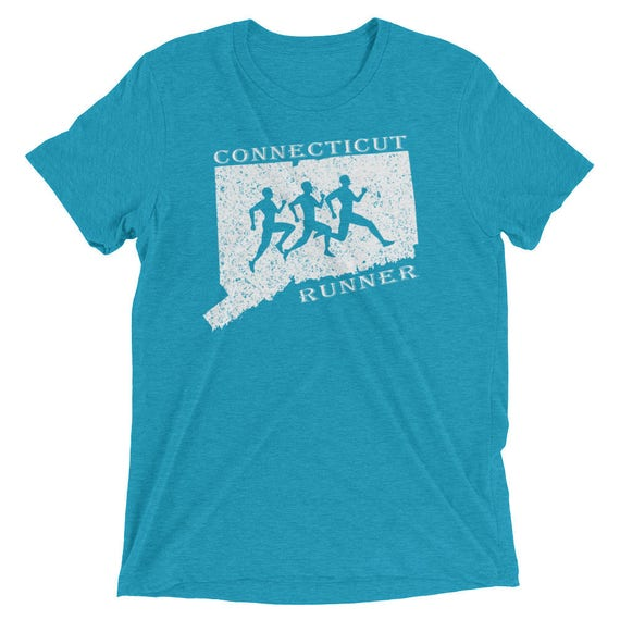 Men's Connecticut Runner Triblend T-Shirt - Run Connecticut - Men's Short-Sleeve Running Shirt