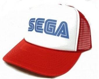 Sega Trucker Hat Mesh Hat CHOOSE COLOR hat! adjustable one size fits most NEW