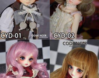 CODENOiR - Wig for YOSD / 1/6 / Angel Philia