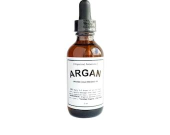 Organic Argan Oil | Cold Pressed Oil | Pure Argan Oil | Face Oil | Organic Skin Care