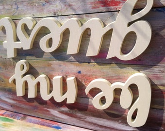 guestroom sign Be My Guest wall decor , Wood Sign