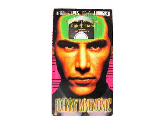 Johnny Mnemonic VHS