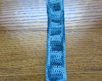 Multi Shades of Blue Men's Bookmark
