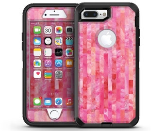 Pink Watercolor Patchwork - OtterBox Case Skin-Kit for the iPhone, Galaxy & More