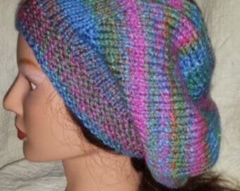Slouchy Hat Knit Pattern