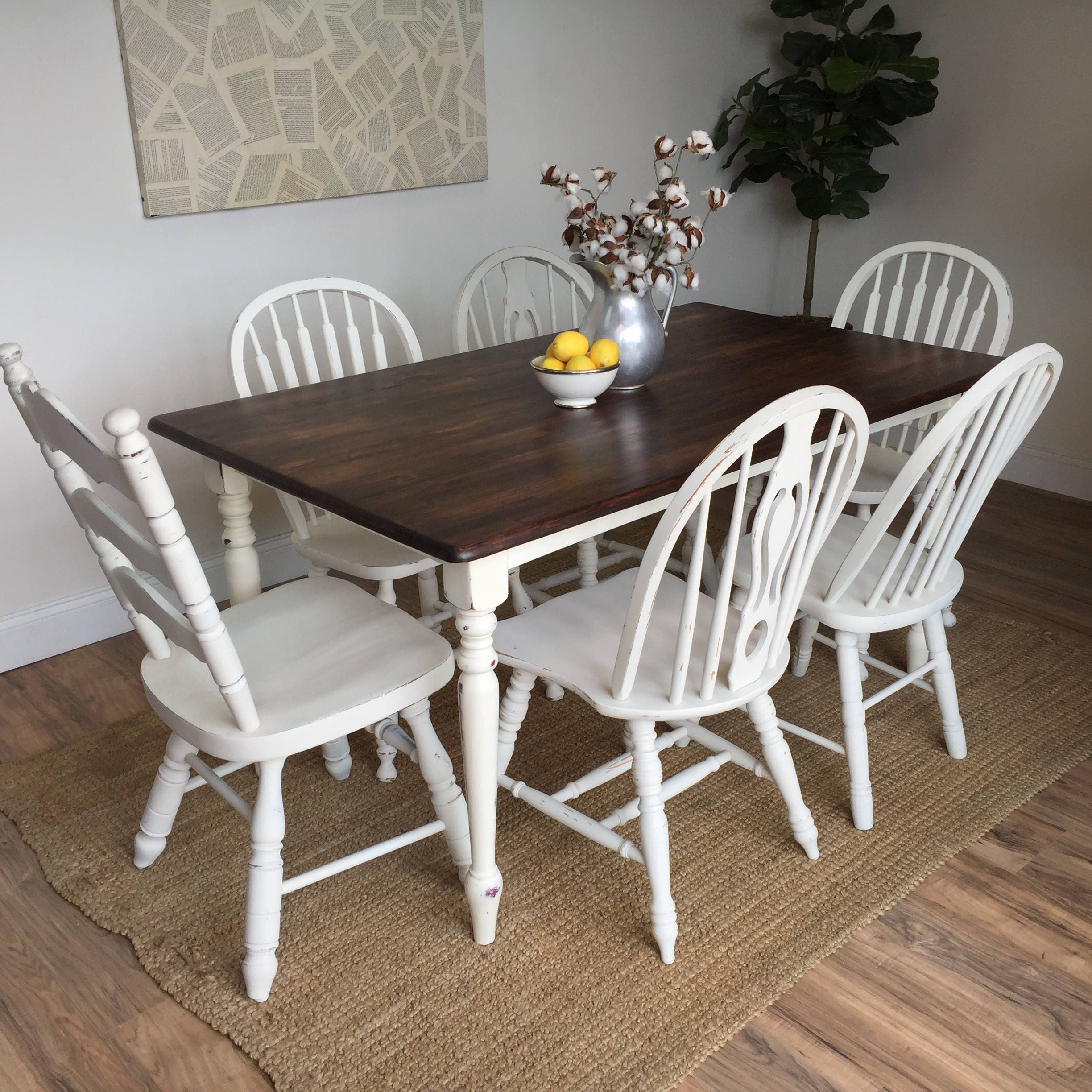 Small Country Table And Chairs: Country Cottage Furniture
