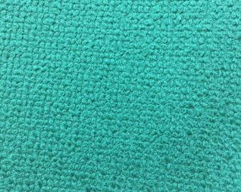 Vintage bark cloth/pebble cloth teal/blue-green