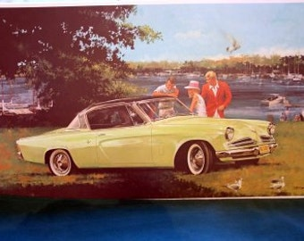 1953 Studebaker Starliner Hardtop Convertible a 50s Classic Car