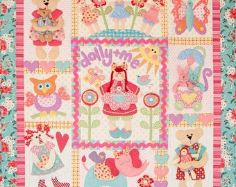Dolly and Me Quilt Pattern - Set of 9 Patterns