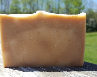 Honey Oats - RAW Goats Milk Soap