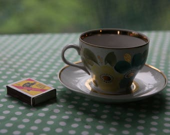 Tea Cup and a Saucer. Vintage