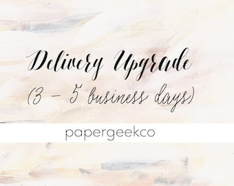 Delivery Upgrade to US / EUR / AUS / Canada
