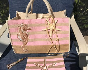 Seahorse Weekend Bag with Organizer