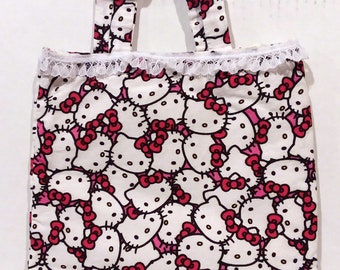 Little Girl Handbag Purse Hello Kitty