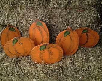 Doublesided Small Pumpkin Patch Set
