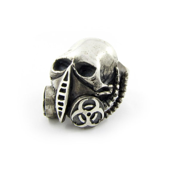 silver skull rings for men alchemy gothic ring alchemy
