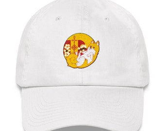 Year of the Doge Dog Dogecoin Cryptocurrency Chinese New Year Inspired Artwork Shiba Inu 2018 Embroidered Trucker Dad hat
