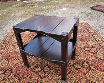 Antique Arts & Crafts Table  w5261