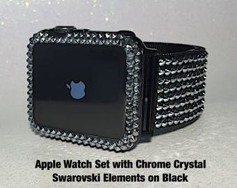 sport watch wristband replacement luxury metal steel available secbolt stainless band dp bands apple com amazon jewelry bling bracelet for