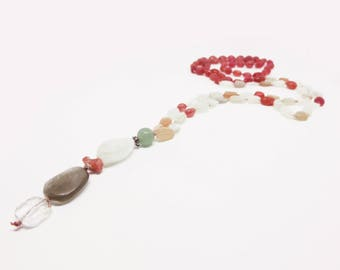 Red Jade and Moonstone