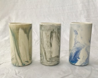 Marbled Shooter Cups