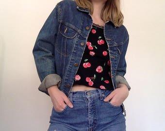 Vintage 80s Lee Denim Jacket