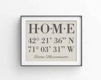 Realtor Closing Gift | Real Estate Gift | House Warming Gift | GPS Coordinates | Gift for New Homeowner | Housewarming Gifts | Closing Gifts