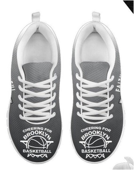 Walking PP Brooklyn Nets 003A BK HB Shoes Basketball Fan Sneakers AAI4fH