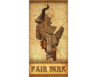 The Woofus, Fair Park, Dallas, Texas
