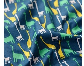 Giraffe Fabric made in Korea by Half Yard