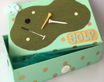 Golf gift box