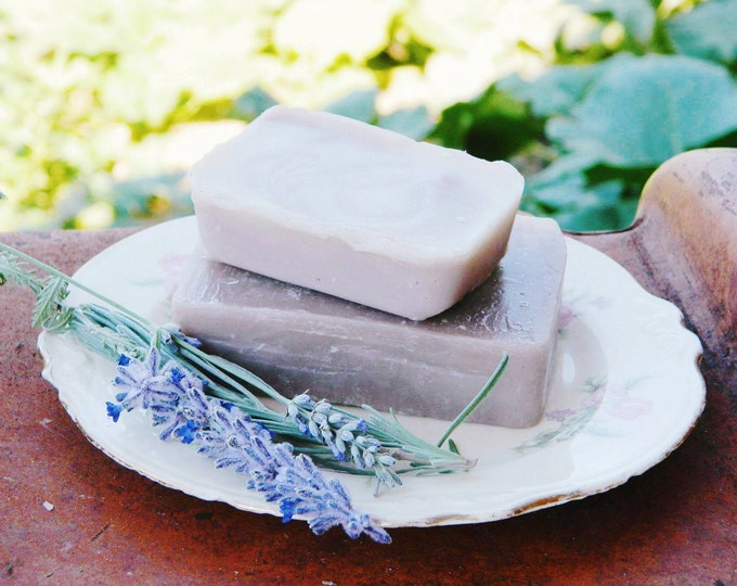 Lavender Sage Essential Oil, All Natural, Handmade, Cold Processed Soap