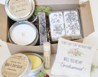 Bridesmaid Proposal Gift Set - Gift Box for Bridesmaids - I Can't Say I Do Without You!