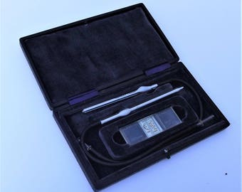 Rare Vintage Boxed Hawksley of London Haemacytometer Medical Instrument Medicine Collectable Blood Cell Counter
