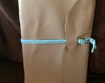 Grey Matters||Long Stitch Hand-Bound Leather Journal