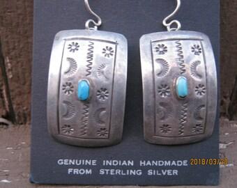 Sterling Silver Mexican Earrings