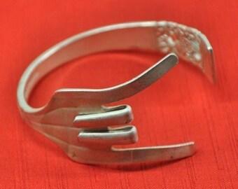 ROCK ON Fork Bracelet, Silverware Jewelry