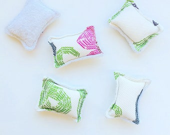 rEUSABLE sPONGE | Terry Cloth and Cotton Flannel