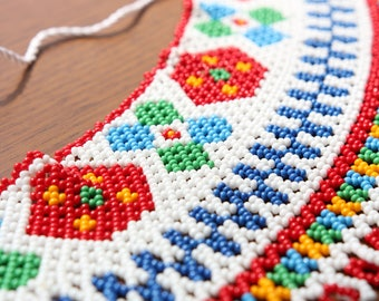 Authentic Ukrainian beaded jewelry