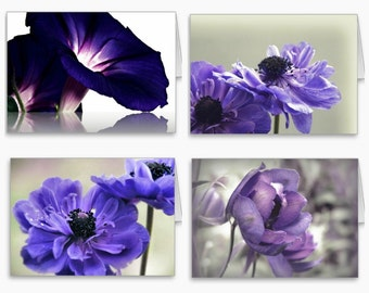 Beautiful Floral Photography Note Cards,Photo Stationery,purple flowers,floral notecard set,lilac,lavender,nature photography,gift idea